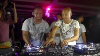 DJ Shimza b2b Djeff Afrozila - Live @Djoon Experience Sicily 2016