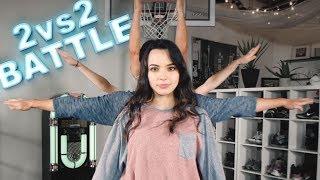 2vs2 EPIC DANCE BATTLE || ft D-Trix & Merrell Twins