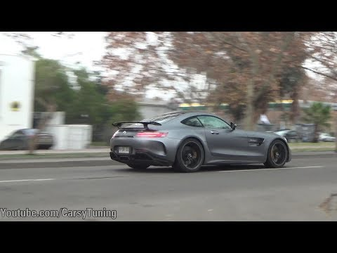 Mercedes AMG GT R - Accelerations and little Revs