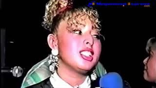 """Entrevista a Patricia Teherán """"La Diosa del Vallenato"""" a finales de 1994"""