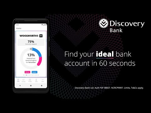 Join the bank by installing the Discovery Bank app