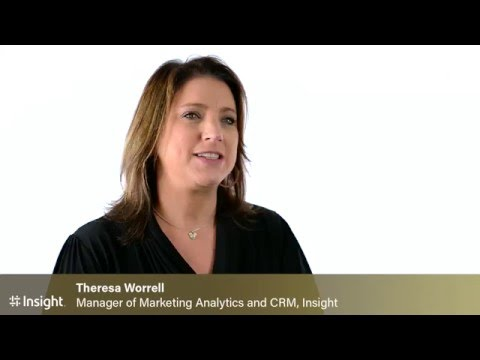 Mintigo Customer Success:  Theresa Worrell at Insight
