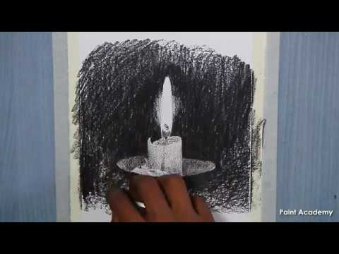 How to shade a candle in Pencil