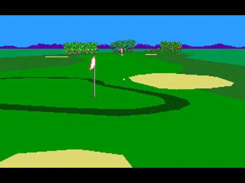 PGA Tour Golf (Kemper Open at TPC Avenel) (Sterling Silver) (MS-DOS) [1990] [PC Longplay]
