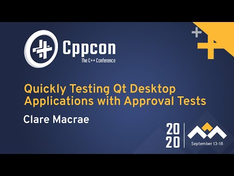 Quickly Testing Qt Desktop Applications with Approval Tests