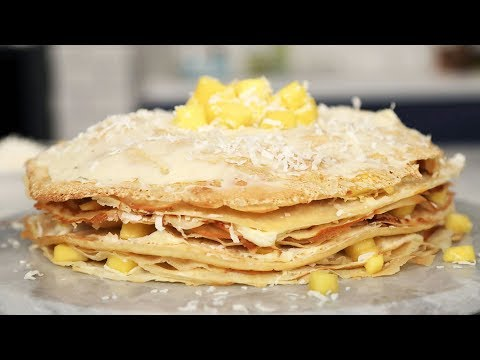 How To Make An Easy Crepe Cake