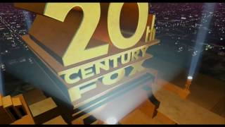 20th Century Fox Logo With The Simpsons Movie Fanfare With Ralph Singing