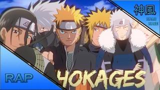 Rap dos Hokages | Sombras do Fogo | Kamikaze (Prod. By Shuka4Beats)