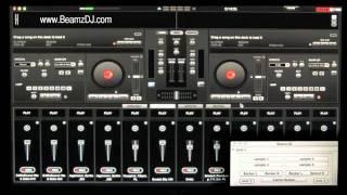 Beamz DJ Laser Controller Audio Sample DJ Tutorial Training For Virtual DJ (DJT4) USA CA AZ BEAMs