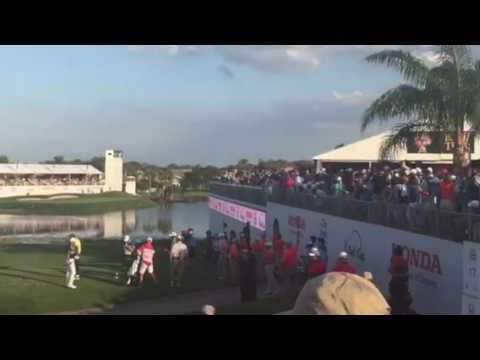 PGA Tour Honda Classic - Rickie Fowler Tee shot
