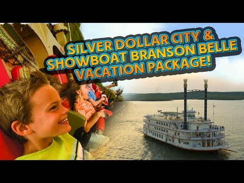 Silver Dollary City + Showboat Branson Belle | Branson Missouri Vacation Pacakge