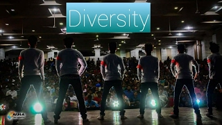Hey who are you-Kirik party dance cover by team Diversity,insignia'17,sdmcet,Dharwad