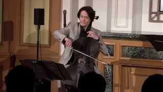 Prelude from Bach Cello Suite no. 1 in G major played on a carbon fiber cello