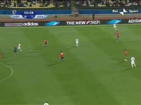 USA – Egitto 3-0 del 21.06.2009 Confederations Cup