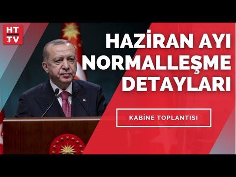 Cumhurbaşkanı Erdoğan yeni normalleşme detaylarını açıklıyor… #CANLI