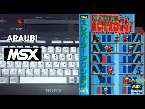 Elevator Action (Taito, 1985) MSX [156] Walkthrough Comentado