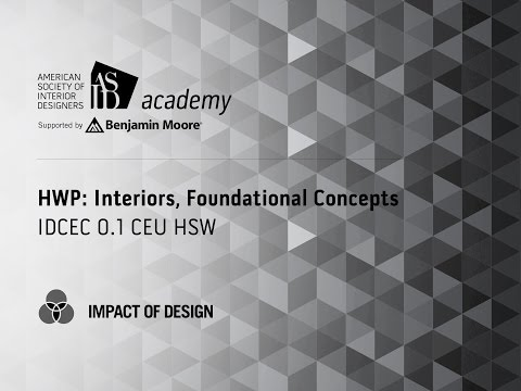 Course Preview: HWP: Interiors, Foundational Concepts (2)
