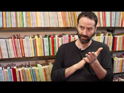 Dan O'Brien on Writing