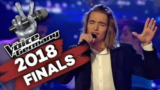 Frank Sinatra - Fly Me To The Moon (Eros Atomus Isler)   The Voice of Germany   Finale