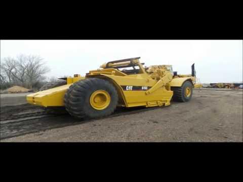 Caterpillar 615C Series I elevating scraper for sale | no-reserve auction February 23, 2017