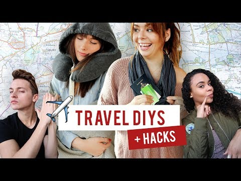 you asked for it: TRAVEL HACKS + DIYS you need for your next trip!
