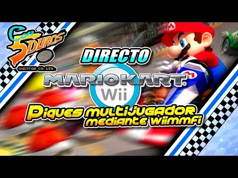 DIRECTO: MARIO KART WII (Piques multijugador mediante Wiimmfi)