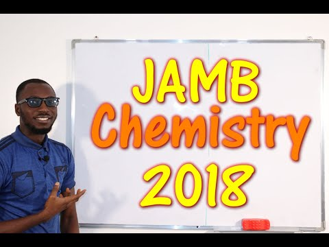 JAMB CBT Chemistry 2018 Past Questions 1 - 22