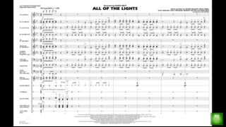 All of the Lights arranged by Tim Waters