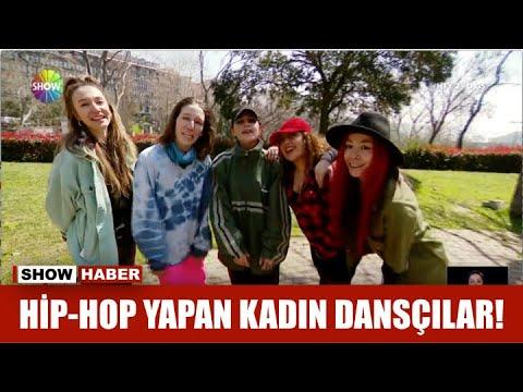 Hip-Hop yapan kadın dansçılar!