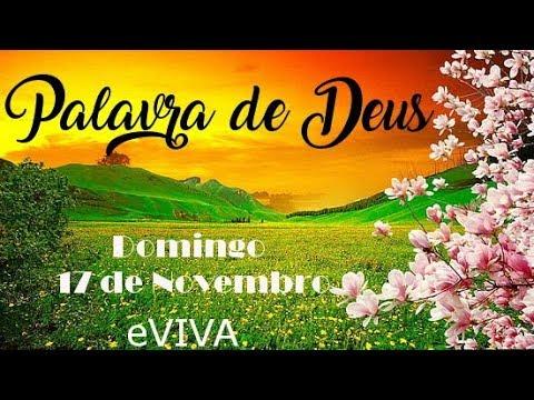 PALAVRA DE DEUS PARA HOJE 17 DE NOVEMBRO eVIVA MENSAGEM MOTIVACIONAL PARA REFLEXÃO DE VIDA