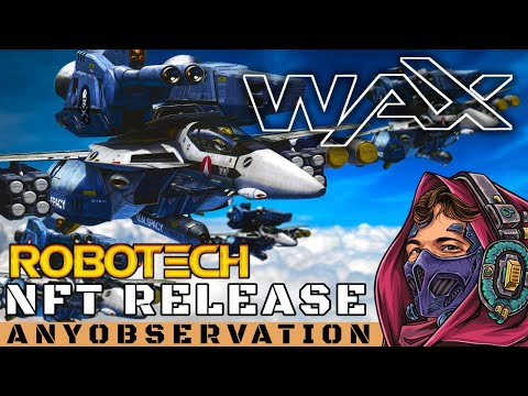 Robotech NFTs coming to the WAX Blockchain!