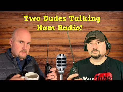 Two Dudes Talking Ham Radio: Antennas, Toroids, and Padawans!