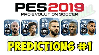 PES 2019 - 22 Players Gold to Black Ball Predictions (Unofficial) | PART #1