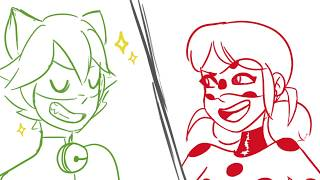 Anything you can do (i can do better) 2 // (Miraculous Animatic)