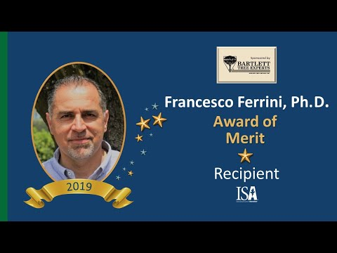 2019 Award of Distinction | Francesco Ferrini