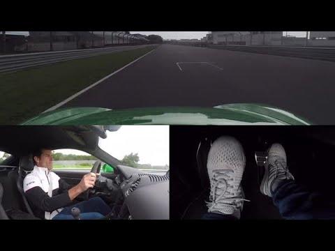 Mark Webber Drives the Porsche 718 Cayman GTS 4.0 Round Estoril