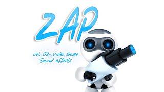 Zap 02 - Sci Fi Weapon Video Game Sound Effects - Laser Gun SFX