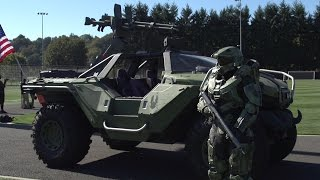 Halo's Master Chief makes a special visit to Sounders FC training