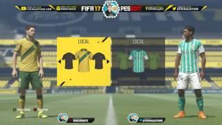 FIFA 17 Liga Nos Portugal Kits & Ratings