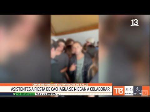 Asistentes a fiesta de Cachagua se niegan a colaborar