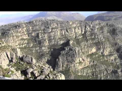 PAUL HODGE: AFRICA'S TABLE MOUNTAIN, SOLO AROUND WORLD IN 47 DAYS, Ch 74, Amazing World in Minutes