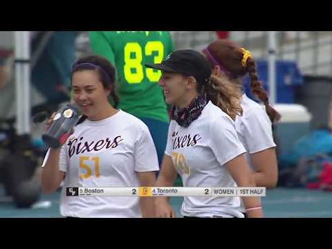 Video Thumbnail: 2019 National Championships, Women's Final: Toronto 6ixers vs. Boston Brute Squad