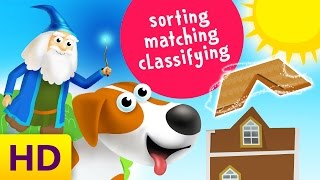Best Classifying , Sorting and Matching Videos for Toddlers |  Learning and Matching Colors For Kids
