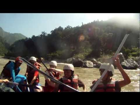 Rafting Tirsuli river Nepal Yantra.lv video by artmif.lv