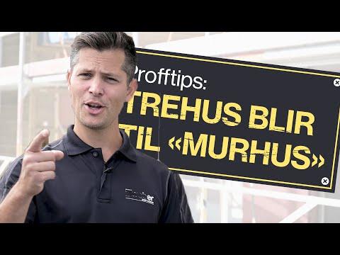 """Profftips 6: Gjør trehuset om til et """"murhus"""""""
