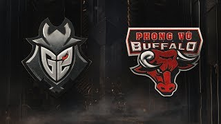 G2 vs PVB   Group Stage Day 5  2019 Mid-Season Invitational   G2 Esports vs.Phong Vũ Buffalo