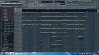 Amatorski Bit Trap and Bass FL Studio ( To jest bit o twojej dziewczynie :)