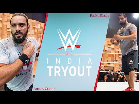 Vidokezo · Rinku Singh & Saurav Gurjar recall their WWE