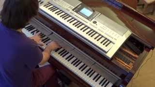 Mike Candys ft Evelyn & Tony T - Everybody - piano & keyboard synth cover by LIVE DJ FLO