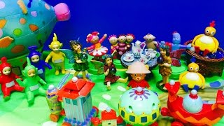 IN THE NIGHT GARDEN Toys Host Tea Party With Teletubbies and Friends!